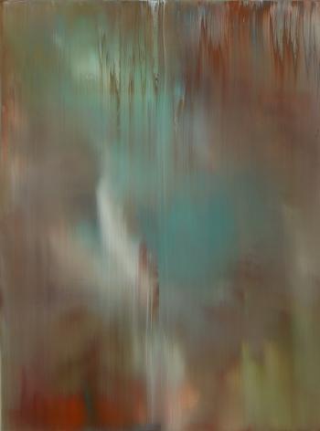 Shin Min Joo.Uncertain Emptiness 20-6, 2020, Acrylic on canvas,130 x 97 cm.Courtesy of the artist &PKM Gallery.