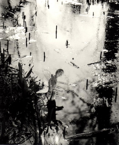 Hernan Bas. Untitled 5, from the series 'A bunch of fairies,'2011.Gelatin silver print, 12 x 9.6 cm (image) 37 x 29.5 cm (framed).Courtesy of the artist & PKM TrinityGallery.