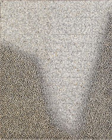 Chun Kwang Young. Aggregation01- AU301, 2001. Mixed Media with korean Mulberry paper, 164 x 132 cm. Courtesy of the Artist & PKM Gallery.