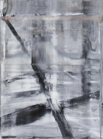 Shin Minjoo. Uncertain Emptiness 15044, 2015.Acrylic on canvas, 130 x 97 cm. Courtesy of the artist & PKM Gallery.