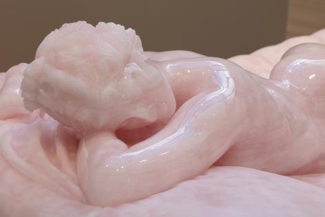 Barry X Ball  Sleeping Hermaphrodite (detail)