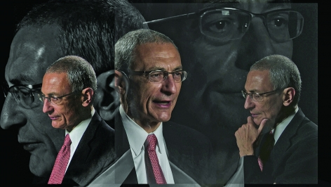 Lincoln Schatz_The Network (John Podesta), face-mounted pigment print, 16.75 x 30 inches