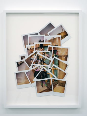 JEREMY KOST A Bus to Nowhere at 39th and 9th (One-Half Nelson) 2009, original polaroids, 22.5 x 18 inches