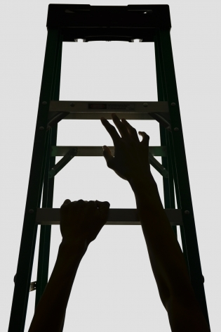 WILMER WILSON IV Faustian Ladders (#1) 2013, archival pigment print, 30 x 20 inches