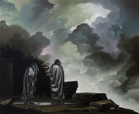 JOHN STARK The Quickening 2010, oil on panel, 16 x 20 inches
