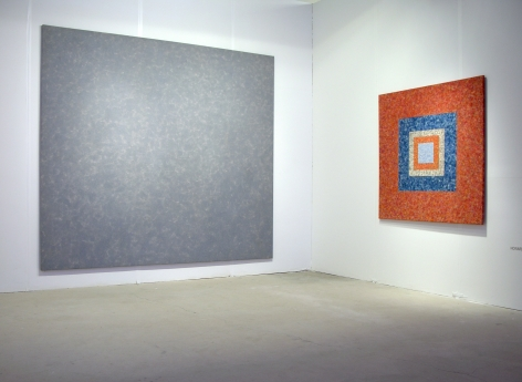 HOWARD MEHRING  ABSTRACTION 1958 / 2013  2013. Installation view: booth B21, Art Miami