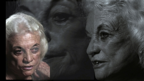 LINCOLN SCHATZ The Network (Sandra Day O'Connor) 2012, face-mounted pigment print, 16.75 x 30 inches