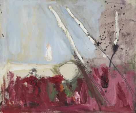 Gene Davis  Untitled  1957, acrylic on canvas, 10 x 11.75 inches.