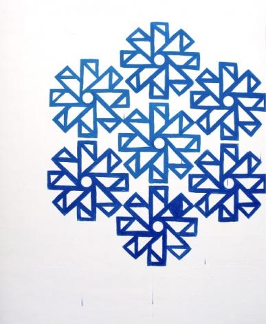 JEREMY FLICK Modus Operandi 2009, acrylic on canvas, 66 x 54 inches.