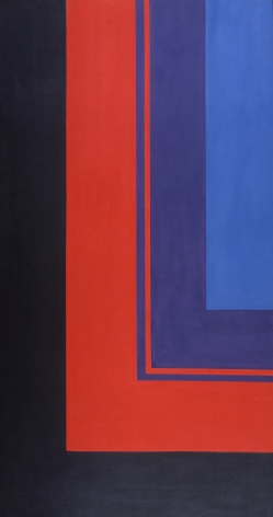 Howard Mehring  Untitled  1964, magna on canvas, 83 x 44 inches.