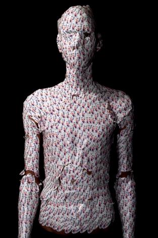 WILMER WILSON IV Self Portrait as a Model Citizen 2012, archival pigment print, 45 x 30 inches