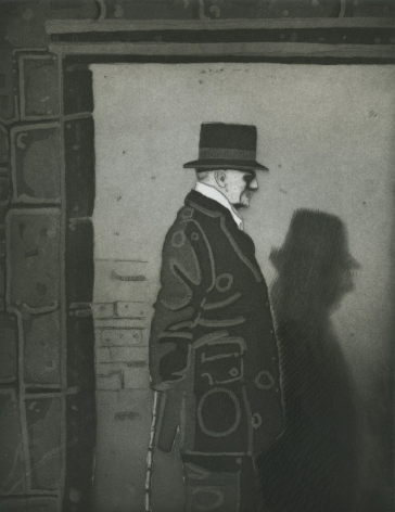 Julie Roberts Sickert's Shadow, portfolio of 5 etchings