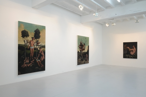 ERIK THOR SANDBERG  Cyclical Nature 2009. Installation view: CONNERSMITH.