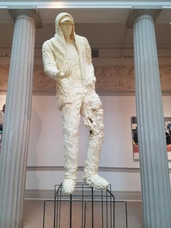 CASE BAUMGARTEN  Constantine  2018, insulation foam and steel, 4.5 x 15 x 4 feet