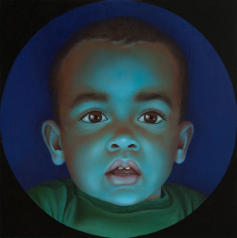 KATIE MILLER The Passion of the Lightgeist 2012, oil on panel, 8 x 8 inches