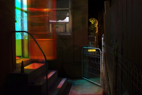 SARA R. HILL 05/31/14 - 21:30, 21:45, 22:00 2014, mounted archival pigment print, 20 x 30 inches, ed:10.