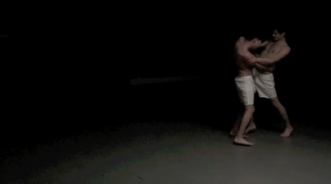 CHRISTOPHER HINOJOSA Embrace (video still) 2012, performance video (16x9), run time: 27:49.