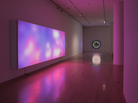 Leo Villareal Survey San Jose Museum of Art installation view