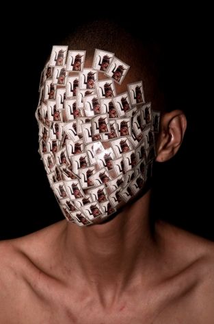 WILMER WILSON IV Henry Box Brown: Head (5¢) 2012, archival pigment print, 23 x 15 inches