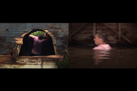 COBLE/RILEY PROJECTS Ascension/Immersion (video still)
