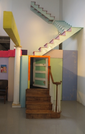 ALAN SIGGERS Rainbow Room (Rainbow Promise)  2014, mixed media, dimensions variable.