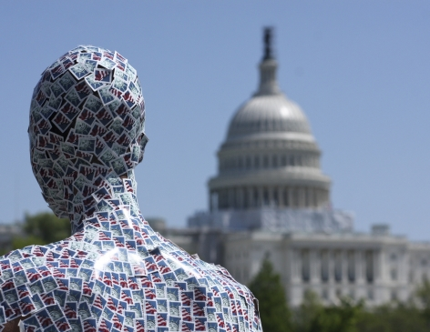 Wilmer Wilson IV_Henry Box Brown: FOREVER Congress archival pigment print, 16 x 20 inches