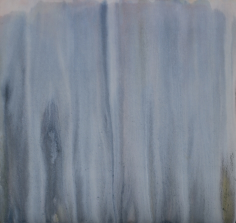 HOWARD MEHRING Untitled c.1957, magna on canvas, 48 x 48 inches.