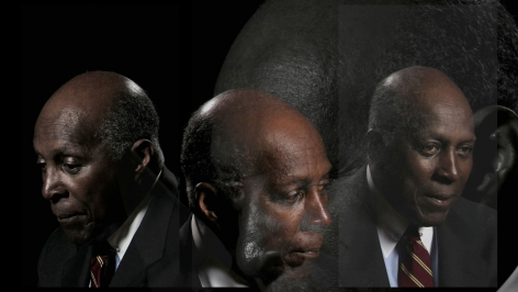 Lincoln Schatz_The Network (Vernon Jordan), face-mounted pigment print, 16.75 x 30 inches