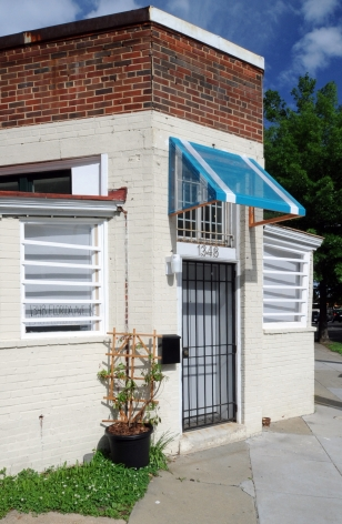 PATRICK MCDONOUGH Awning Studies: Florida Avenue, NE 2011. Installation view: Conner Contemporary Art.