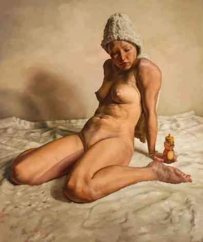 ERIK THOR SANDBERG Untitled (Tijuana Brass)  2007, oil on canvas, 96 x 84 inches.