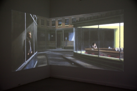 JOYCE Y-J LEE The Wait 2010, video composite, run time: 2:20. Installation view.