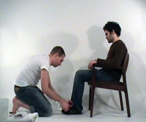 PAUL CHAPMAN Foot Washington Project: 01 2006, video, run time: 24:11