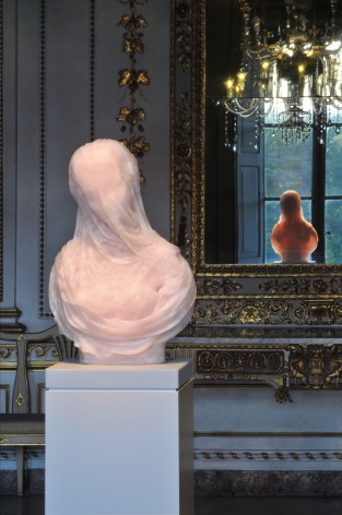 BARRY X BALL Purity in Iranian Translucent Pink Onyx The New Gallery Palazzo Mansi, Lucca archival inkjet print