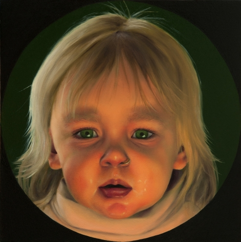 KATIE MILLER The Adoration of the Stimuli 2012, oil on panel, 8 x 8 inches