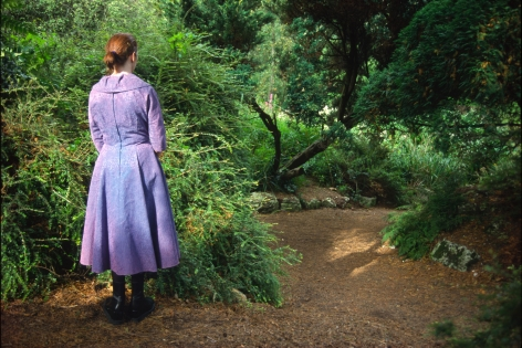 Susan MacWilliam  Garden Series: Girl Standing  2001/2006, digital print, 16 x 24 inches, ed: 5 + 2AP.