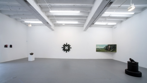 The Works: Recent Painting, Sculpture, Video  2013. Installation view: CONNERSMITH.