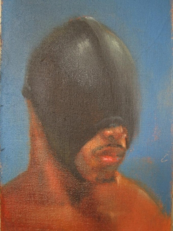 WAYDE MCINTOSH Untitled 2008, oil on muslin, 4 x 6 inches.