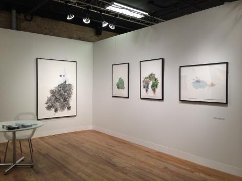 ZOË CHARLTON  2014. Installation view: booth 1.17, VOLTA NY