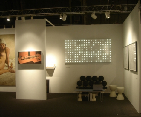 2007. Installation view: booth 311, PULSE New York.
