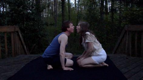 EMILIA PENNANEN Breath Away (video still) 2015, video performance 1920 x 1080p, run time: 2:19