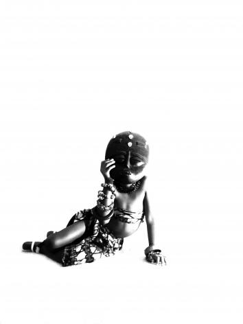 AISHA JEMILA DANIELS  Untitled (from Afrikans in America) 2010, digital print, 11 x 14 inches.