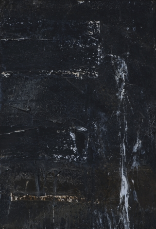 Michael Goldberg  Untitled  c.1962, oil on canvas on plywood, 22 x 15 inches.