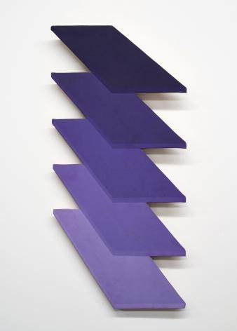 Thomas Downing  Nineteen  1968, 35.5 x 16.5 inches.