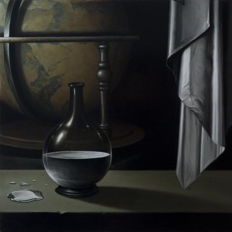 JOHN STARK Mercury 2010, oil on panel, 11 x 11 inches