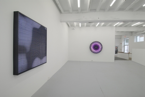 LEO VILLAREAL  New Works 2008. Installation view: Conner Contemporary Art.