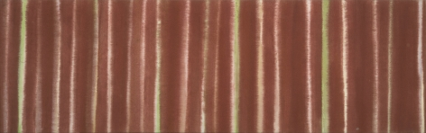 Howard Mehring  Untitled  c.1958-59, acrylic on canvas, 17 x 54 inches.