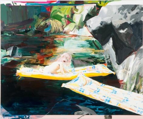 CARMEN MCLEOD Mogollon Rim 2008, oil on canvas, 75 x 90 inches.