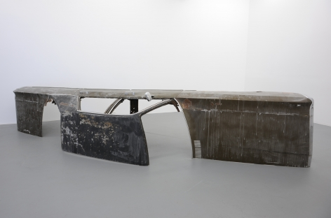 BENJAMIN KELLEY Untitled 2013, 1971 Chrysler Newport sculpture