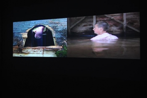 COBLE/RILEY PROJECTS Ascension/Immersion 2011. Installation view: Conner Contemporary Art.