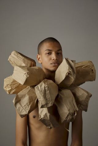 WILMER WILSON IV Study From My Paper Bag Colored Heart 2012, performance